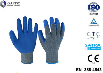 China Cut Resistant Gloves Flexible Breathable Nylon HPPE Glass Fiber Latex Coated supplier