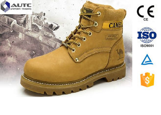 China Non Conductive PPE Safety Shoes , Lightweight Steel Toe Shoes Military Anti Static supplier