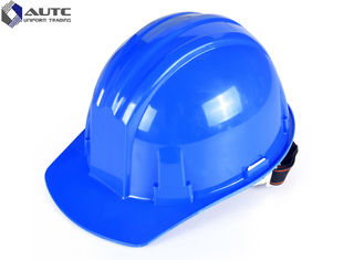 China Head Fiberglass Hard Hat Air Conditioned For Electrical Work Impact Prevention supplier