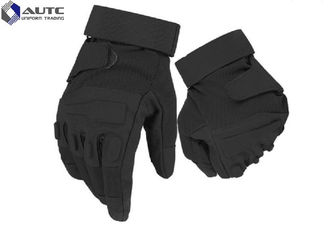 All Weather Military Tactical Gloves , Cold Weather Tactical Gloves With Knuckle Protectio