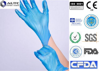 Pharmaceutical Disposable Medical Gloves , Plastic Serving Gloves  3.5 Mils Thick