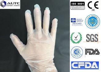 China Eco Friendly Food Handling Gloves , Food Grade Disposable Gloves 240mm GMO Free supplier