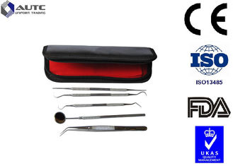 China Professional Disposable Dental Examination Kit Stainless Steel Material  Eo Sterilized supplier
