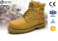 China Non Conductive PPE Safety Shoes , Lightweight Steel Toe Shoes Military Anti Static factory