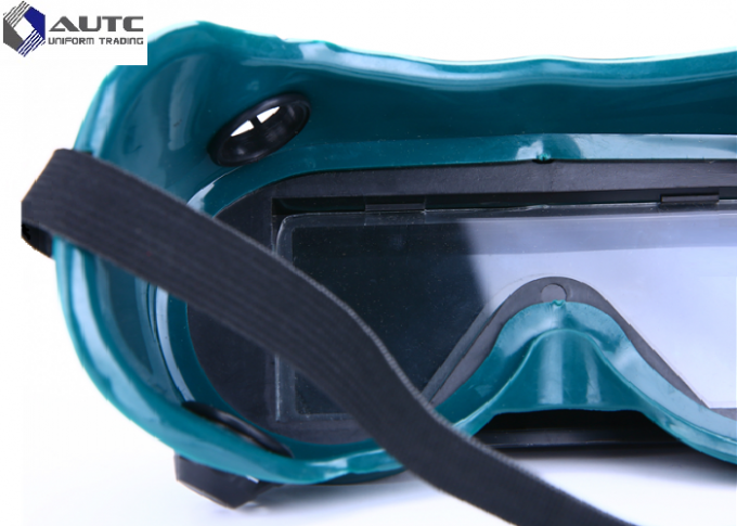 Impact Resistant PPE Safety Goggles , Style Safety Glasses For Gas Cutting