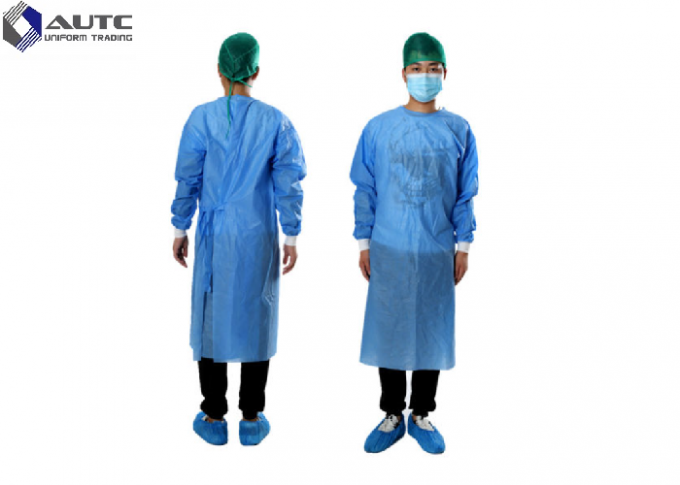 PP Disposable Medical Workwear Garments , Hospital Surgical Scrubs Non Woven