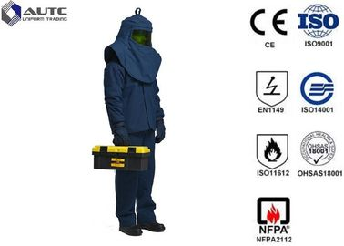China Dupont Mens PPE Safety Wear Suits Flash Protection Multilayer Arc Flash Protective distributor