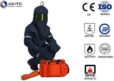 China Industrial Protector PPE Safety Wear Fashionable Neckline Cuff Leg Opening Design factory
