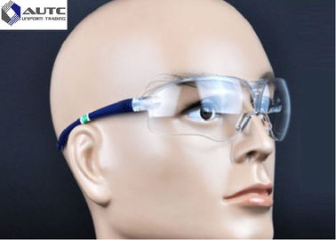 China Protective PPE Safety Goggles , Site Safety Glasses Chemistry Eyewear For Dust distributor