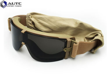 China Polarized Tactical Military Goggles , Military Issue Prescription Glasses  TR90 Hunting distributor