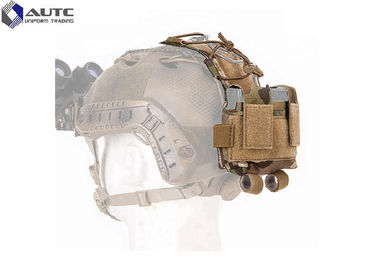 China 3m Tactical Ballistic Helmet , Full Face Modern Military Helmets Elastic Rope distributor