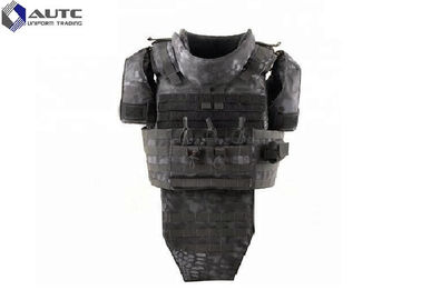 China Low Profile Camouflage Police Tactical Vest With Holster UD Fabric Adjusted Waist Straps distributor
