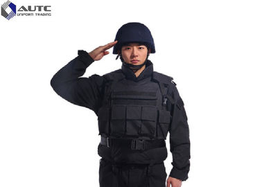 China Aramid PE Tactical Body Armor Multi Functional Floating NIJ IIIA 9mm Black distributor