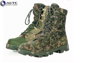 China Heavy Duty  Law Enforcement Boots , Tan Combat Boots Insulated Fashion distributor