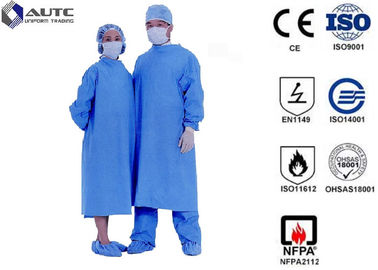 China Sterile Chemotherapy Disposable Hospital Scrubs Gowns  S-5XL Customized Size distributor
