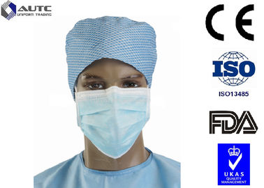 China Full Face Sanitary Designer Surgical Masks , Medical Mouth Cover Silk Like Multi Layers factory